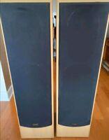 DENMARK tower SPEAKERS E830LR A Pair Tower Speakers