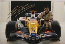 Adam Khan Hand Signed 12x8 Photo - F1 - Formula 1 Autograph.