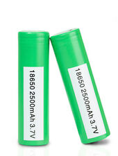 25R 18650 2500mAh 20 35A INR IMR Rechargeable Battery