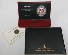 2006 $1 Limited Edition Canadian Silver Proof Coin Enamel Effect RCM COA Canada