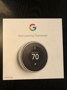 3rd Generation Nest Learning Thermostat t3019