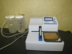 Thermo Fisher WellWash 1x8 MicroPlate Washer with Bottles & Warranty VIDEO!