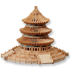 """3-D Wooden Puzzle - Temple Of Heaven -Gift Item """"Brand New"""""""