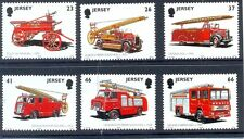 Jersey-Fire Engines-set of 6 - mnh