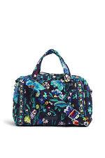 Vera Bradley Iconic 100 Moonlight Garden Handbag Bag Purse