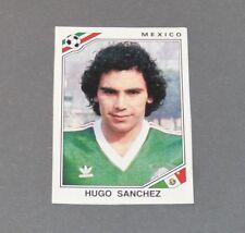 HUGO SANCHEZ MEXIQUE RECUPERATION PANINI FOOTBALL MEXICO 86 WM 1986