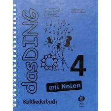 Le Ding Bande 4 Mit Notes sur 400 Songs Reliure à Anneaux Grande Dux Verlag Lutz