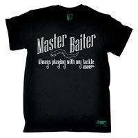Fishing Master Baiter angling fish rod reel funny Birthdaytee T-SHIRT