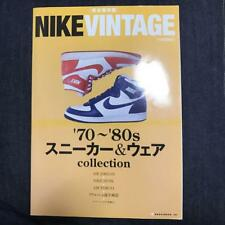 Japan NIKE VINTAGE '70 - '80s Sneakers & Wear Collection Book