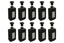 10x Hand Push Pull Pneumatic Air Control Valve 5 Port 4 Way 2 Position 1/4