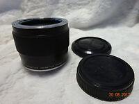 Olympus OM Teleconverter 2x-A for 100mm, 135mm, 200mm lenses.