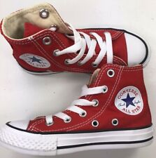 Authentic Converse All Star YOUTH / RED / HIGH / Reg Price $45 / New In Box
