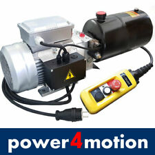 Hydraulikaggregat, Hydraulikpumpe 230V 180bar 2,2KW für einfachwirkende Zylinder
