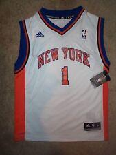 ($60) ADIDAS Knicks AMARE STOUDEMIRE nba Jersey YOUTH KIDS BOYS (m-medium)