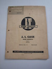 Case 500 Diesel Tractor Shop Service Repair Manual I&T C-4