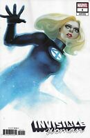 Invisible Woman Comic 1 Cover B Variant Stephanie Hans First Print 2019 Marvel