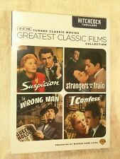 Tcm Great Classic Films: Suspicion , Strangers On A Train, I Confess , Wrong Man