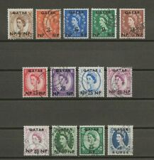 More details for qatar 1957-59 sg 1/12 used cat £25