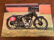 Vintage 1934 Sunbeam Model 95R 500cc National Motorcycle Museum Postcard (B)