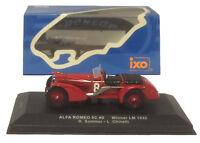 IXO LM1932 Alfa Romeo 8C #8 Winner Le Mans 1932 - Sommer/Chinetti 1/43 Scale