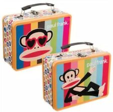 PAUL FRANK LARGE TIN TOTE LUNCH NEW