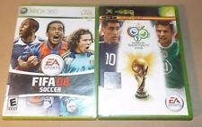 Fifa08 Soccer +  Fifa World Cup Germany 2006 for XBox Live NTSC - Open Very Good