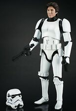 STAR WARS THE BLACK SERIES HAN SOLO IN STORMTROOPER DISGUISE 6 IN ACTION FIGURE