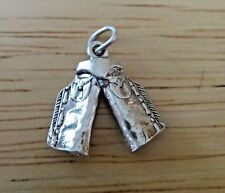 0bfb9d776c8 Sterling Silver 3D 18x18mm Cowboy Western Chaps Charm