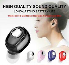 Invisible Mini Headphone In-Ear Earphone5.0 Bluetooth Wireless Stereo Earbuds