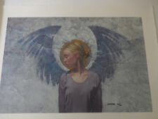 James Christensen Angel Unaware Limited Edition Signed Giclee on Paper MINT