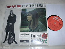 FRANCOISE HARDY Portrait In Musik *RARE 60s GERMAN SR INTERNATIONAL 10inch*