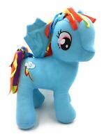 "My Little Pony Blue Rainbow Dash 12"" Soft Toy With Wings Hasbro 2017 Horse"