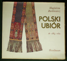BOOK History Polish Fashion medieval clothing renaissance textile costume POLAND