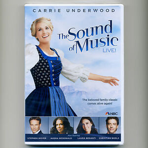 Sound of Music Live 2013 family TV special new DVD Rodgers Hammerstein Underwood