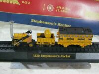 Brand New Steam Train 1829: Stephenson's Rocket Static Display 3D Plastic Model