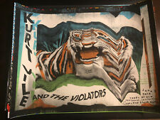 KURT VILE AND THE VIOLATORS concert poster NEW HAVEN 2014 Nate Duval Signed