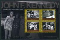 Tuvalu KB MiNr. 1658-61 postfrisch MNH Kennedy (P825