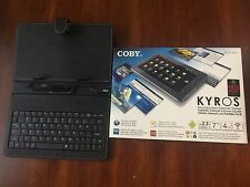 Coby Kyros MID7012 4GB, Wi-Fi, 7in - Black with Keyboard Cover