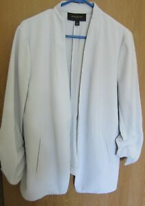 Blouse 4794 Ann Taylor Blue with a hue of lilac Top Jacket suiting Coat Size 14