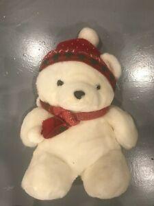 Vintage First 1985 Dayton Hudson Plush Santa Bear Holiday Collection