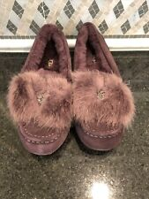 Women's UGG Ansley Puff Bow Slippers- size 7- #1103858