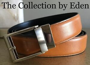 The Custom Fit Belt- Adjustable Tan Brown Leather Cut to Fit Sizes 28-48