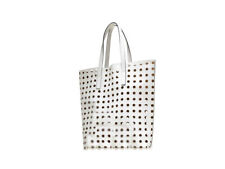 """Estee Lauder WHITE TOTE BAG """"PERFUME AND COSMETICS ARE NOT INCLUDED"""""""