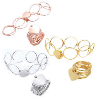 Fashion Retractable Ring Bracelet Change Dual-use Love Heart Folding For Wo R7G2