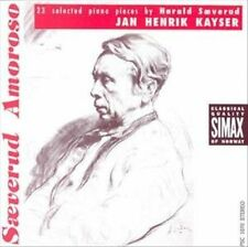 Jan Henrik Kayser Saeverud Amoroso 23 Selected Piano Pieces CD 1992 Simax