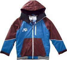 Analog Greed Snowboard Jacket (XL) Frost Line Blue / Saddle