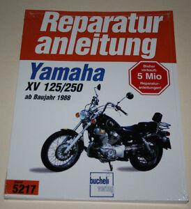 Manuale Riparazione Yamaha XV 125 / XV 250 Virago Da Anno 1988