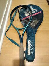 """Blue Pro Kennex Composit Presence Tennis Racquet L2  41/4Obtund 306 27"""" Pro Case"""