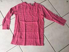 Liquette blouse IKKS Taille 8 Ans rose et sequins