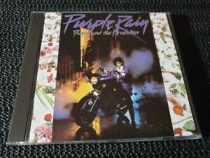 Prince & The Revolution - Purple Rain - Warner CD reissue - rock pop funk soul